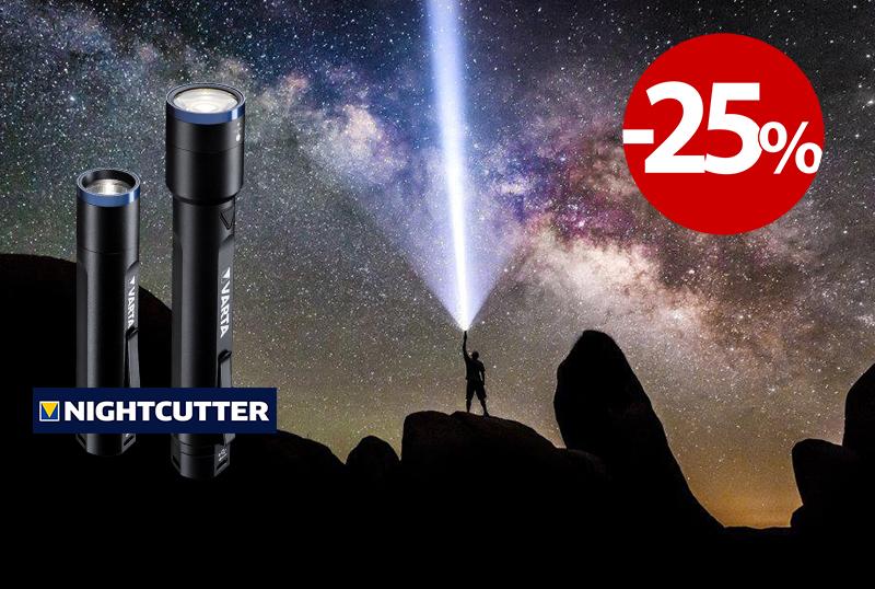 NOVA serija baterijskih svetilk NIGHT CUTTER