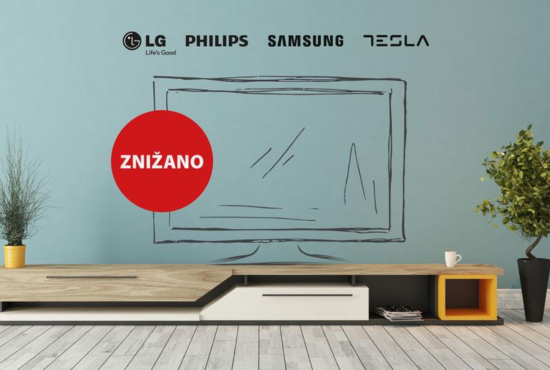 AKCIJA izbranih televizorjev <span class=