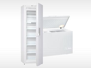 Zamrzovalne omare in skrinje