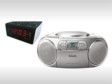 Prenosni radio in radio ure