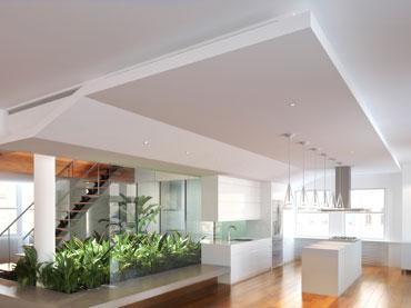 Izdelava spuščenih stropov