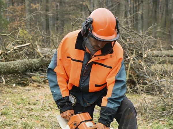 Oprema za gozdarje