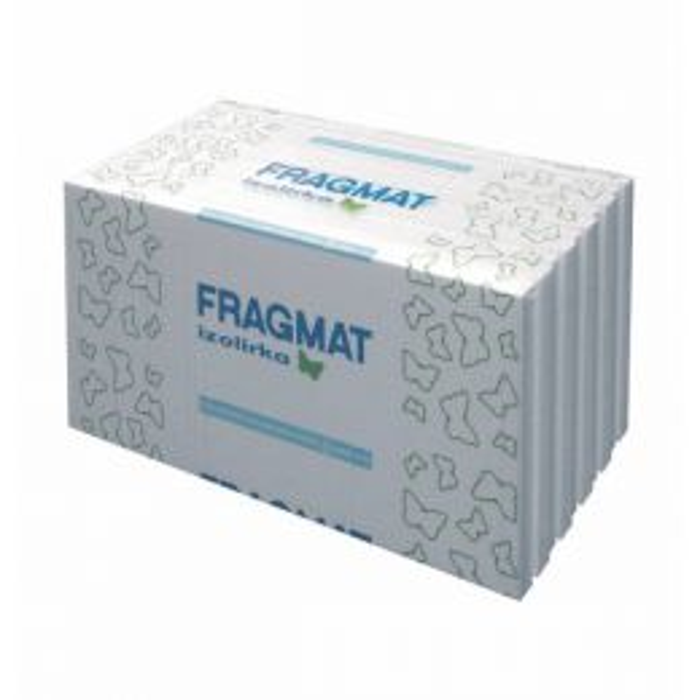 EPS FASADNI STIROPOR FRAGMAT TIM EPS F-P 12 CM PAL = 40 M2, ZAV=2 M2