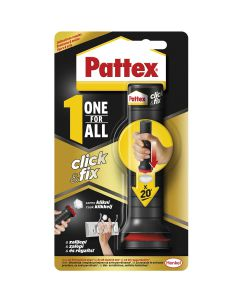 MONTAŽNO LEPILO PATTEX ONE FOR ALL - CLICK & FIX 30G