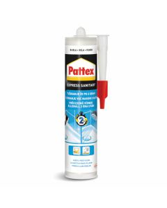 SANITARNI SILIKON HENKEL PATTEX EXPRESS BELI 280 ML - DIY