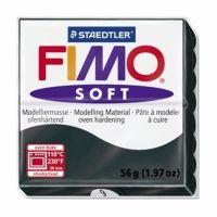 MODELIRNA MASA FIMO SOFT 9, ČRNA 56 G