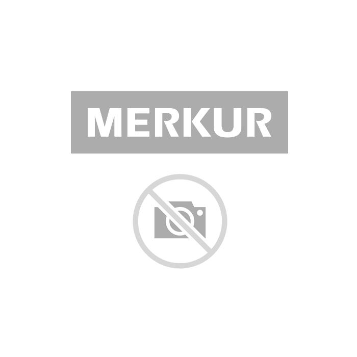 PVC GLADILNA ŽLICA Z GUMO KAUFMANN 240X80 MM ZA BRUSNI PAPIR