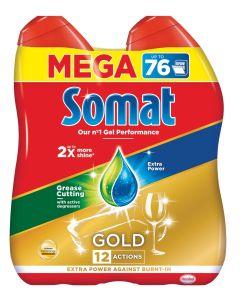 DETERGENT ZA POMIVANJE HENKEL SOMAT GOLD GEL 2X684ML