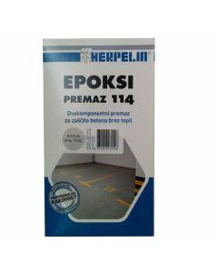 EPOKSIDNI PREMAZ AMAL HERPELIN 114 RAL 7032 1KG 2K - PEŠČENO SIVA