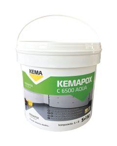 EPOKSIDNI PREMAZ KEMA KEMAPOX C 6500 AQUA 6 KG (5+1) TRANSPARENT