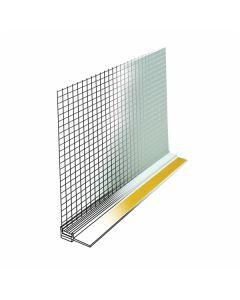 FASADNI PROFIL ALPCOLOR PVC OKENSKI PROFIL Z MREŽICO KOS= 2.4M