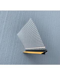 FASADNI PROFIL ALPCOLOR ŠPALETNI PROFIL 3D ANTRACIT RAL7016 2.6M