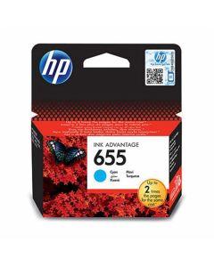 KARTUŠA/TONER HP HP 655 CYAN HP