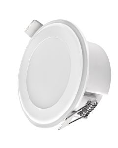 LED PANEL 5.5W NW BELI, OKROGLI, 2V1