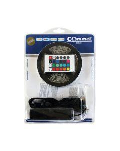 LED TRAK COMMEL SMD 5050 RGB 3M 43.2W DALJINEC NAP.3A SAMO.IP65