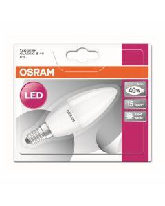 LED ŽARNICA E14 OSRAM ST CLB40 5W/840 FR 220-240V SVEČKA MAT BL/1