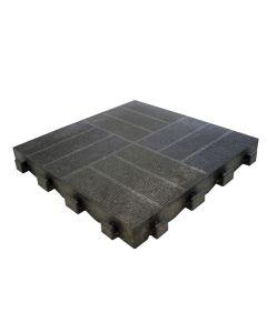 LESEN/PVC TLAKOVEC LEPLECO LATERA 40X40CM ANTRACIT