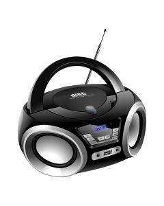 PRENOSNI RADIO XPLORE XP5402 ČRN BOOBOX XP5402.FM.CD.USB.S