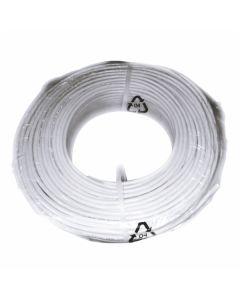 PVC VODNIK EUROCABLE A03VV-F 5X0.75 BELI
