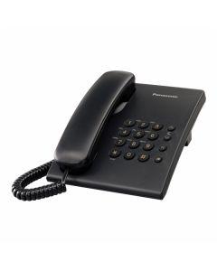 STACIONARNI TELEFON PANASONIC KX-TS 500FXB ČRN ŽIČNI