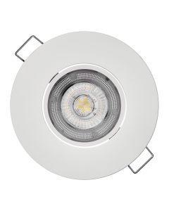 VGRADNA STROPNA SVETILKA EMOS 5W LED EXCLUSIVE BELA