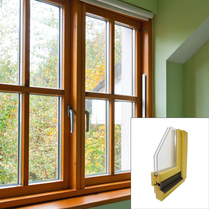 Izbrati lesena, aluminijasta ali PVC okna? - Merkur.si